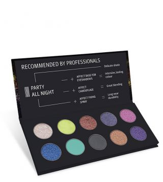 Affect Palette Party All Night Pressed Eyeshadows