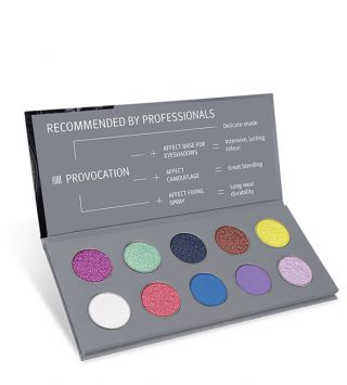 Affect Palette Provocation Pressed Eyeshadows