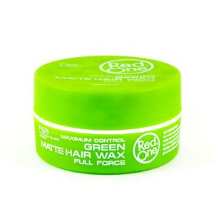 Red One Green Matte Hair Wax Full Force 150ml