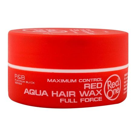 Red One Red Aqua Hair Wax Full Force 150ml